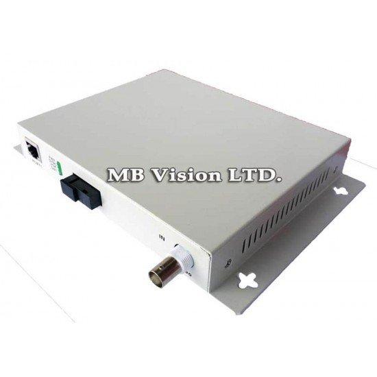 Комплект (приемник и предавател) по оптика до 40км EB-DV1010