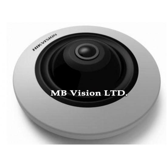 IP панорамна 180 градуса камера Hikvision DS-2CD2942F-I, 4MP, IR 10m