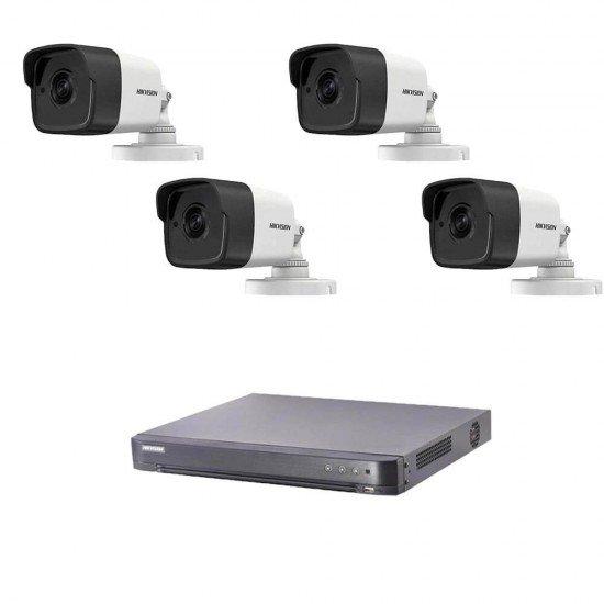 5MP готова система с 4 камери + DVR