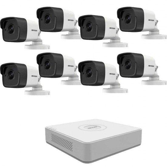 5MP готова система с 8 камери + DVR