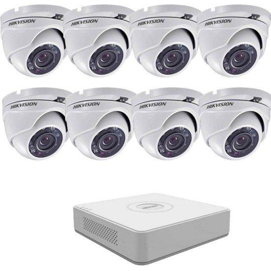 2MP готова система с 8 камери + DVR
