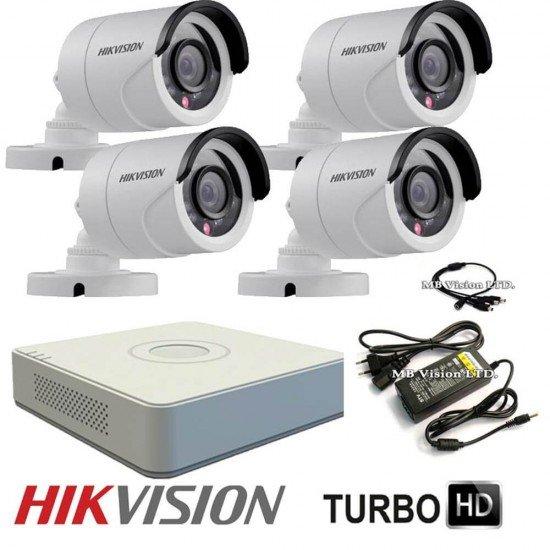 Turbo HD система за видеонаблюдение с HD камери Hikvision